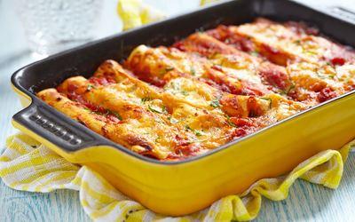 Cannelloni au boeuf à l'ancienne
