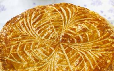 galette des rois aux pommes & Frangipane