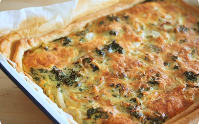 Quiche Chou Kale fromage