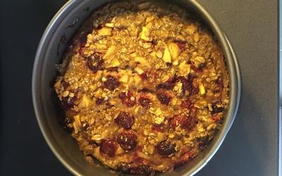 Porridge cuit au four