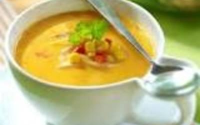 Soupe de Maïs et lait de coco de ma pote