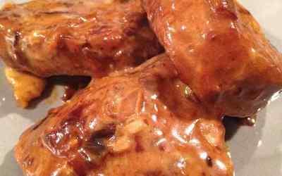 Filet mignon de porc au reblochon