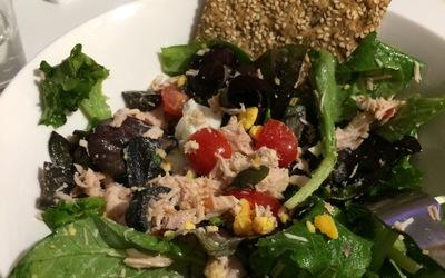 Salade de thon légère
