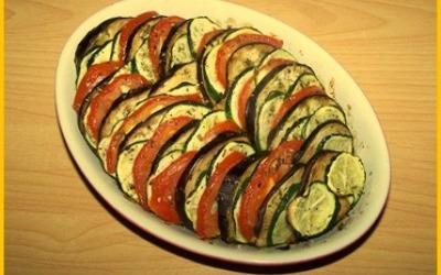 Tian de légumes  du soleil & basilic