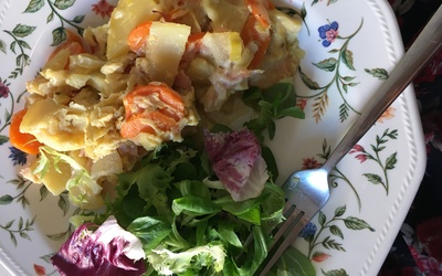 Gratin de légumes d'automne de maman