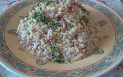 Blé version Carbonara