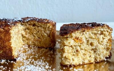 Cake Avoine-Coco-Abricot