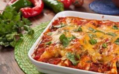 Enchiladas au poulet ( fait maison)