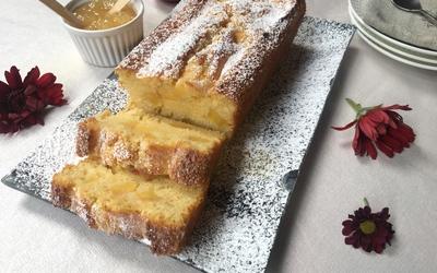 Cake aux pommes et lait ribot