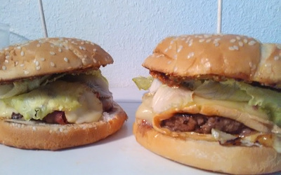 Burger St Nectaire-Moutarde