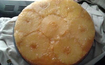 Gâteau ananas-coco