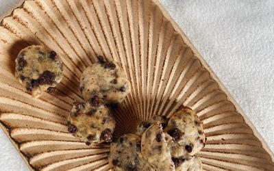 Biscuits moelleux à la banane Healthy
