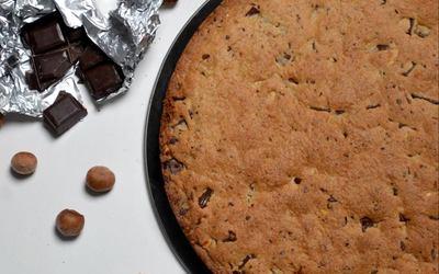 Cookie geant choco-noisette