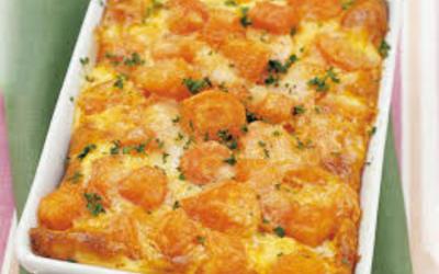Gratin de carottes  et Butternut