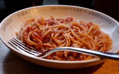Spaghettis all'arrabbiata