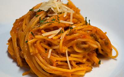 Spaghetti creamcheese