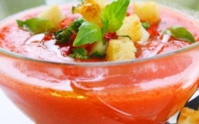 le Gazpacho express  ( recette authentique)