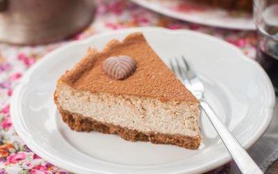 Cheese cake à la crème de marrons