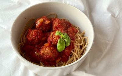 Spaghettis aux boulettes de «viande»