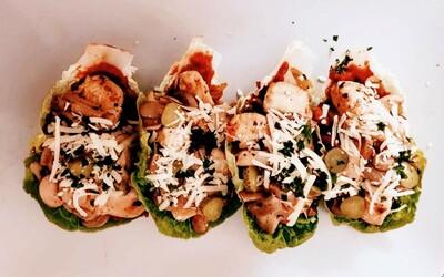 Tacos de laitue