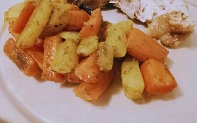 Wok épicé de carottes et navets