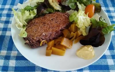 Steaks végétariens