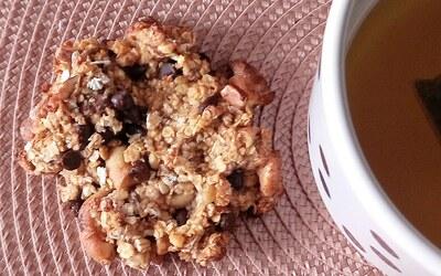 Cookies flocons d'avoine, pépites de chocolat