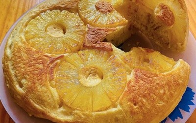 Gâteau Ananas à la poêle