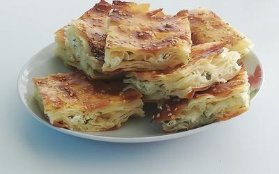 Bôrek turc  au fromage et persil