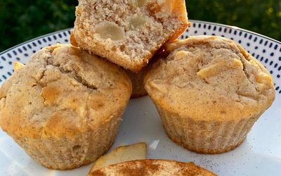 Muffin Pomme et Cannelle 🍎