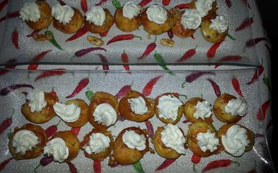 Cupcakes roquefort et noix