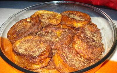 rabanadas [ pain perdu à la portugaise ]