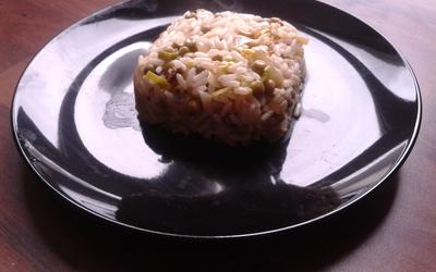 Poêlée aux légumes verts et au riz