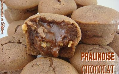 Recette de muffins pralinoise Poulain
