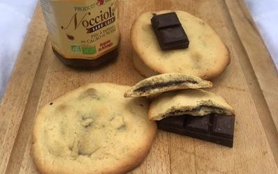 Cookie fourrés pâte à tartiner