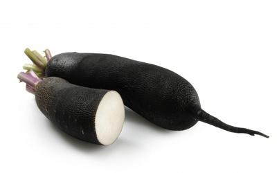 poêlée de radis noir au garam massala