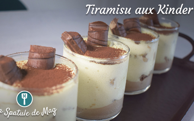 Tiramisu aux Kinder (Maxi et Bueno)