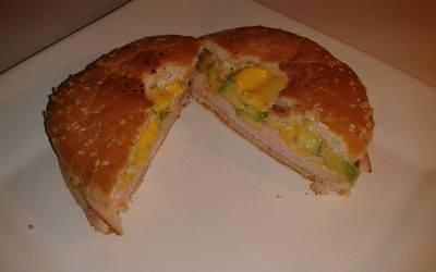 Bagel Avocat/Poulet