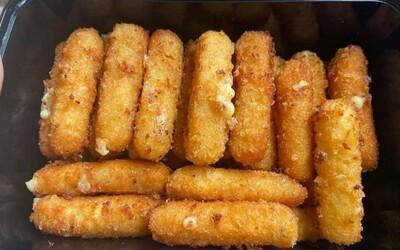 Sticks de mozzarella
