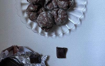 Crinkles au chocolat Healthy