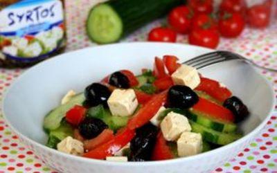 salade grecque simplissime spécial étè