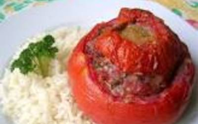 tomates farcies, (recette traditionnelle)