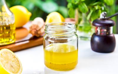 Vinaigrette ail et citron