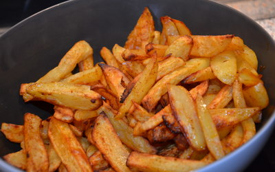 "frites ""maison"" sans friteuse!"