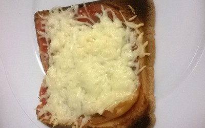 Pizza improvisée