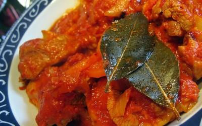 OSSO Bucco de dinde à la tomate ( facile)