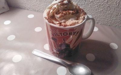 Chocolat chaud spécial coup de barre