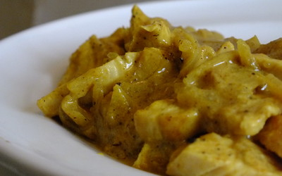 Poulet au curry (Facile)