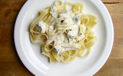 Tagliatelles au gorgonzola