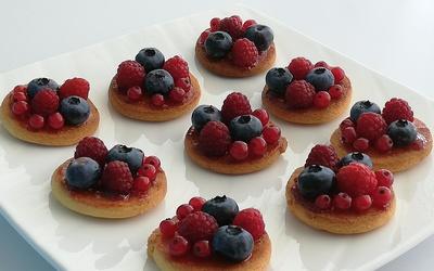 Biscuits façon minis tartelettes Fruits Rouges